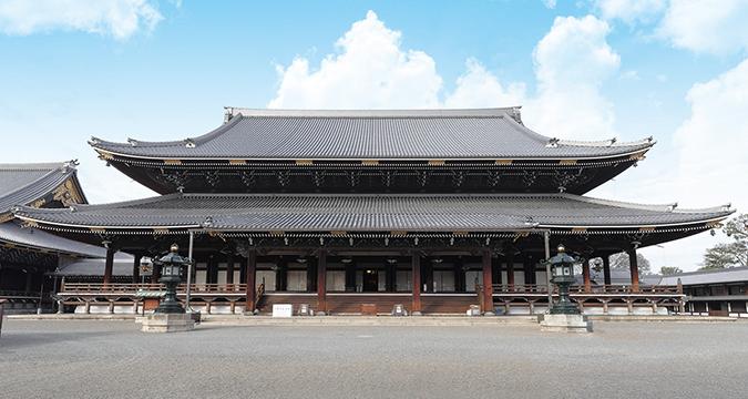 東本願寺のイメージ