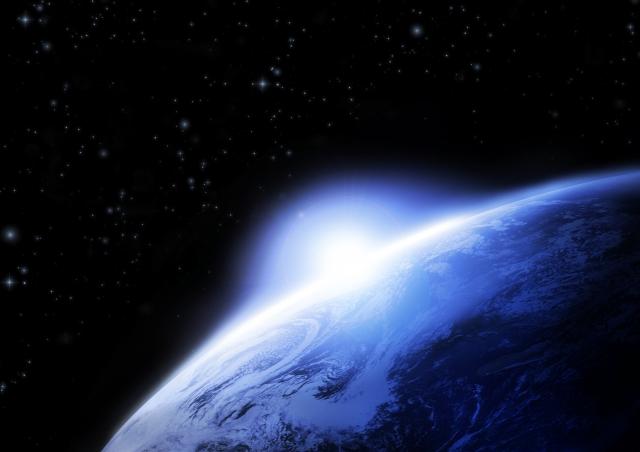 宇宙葬のイメージ